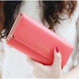 Spesifikasi Lady Wanita Clutch Dompet Panjang Dompet Kulit Pemegang Kartu Kredit Tas Hadiah Semangka Merah Intl Terbaik