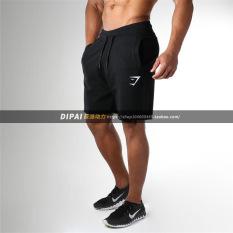Beli Celana Seperlima Olahraga Pria Santai Hitam Other Murah