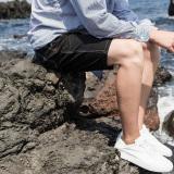 Toko Laki Laki Musim Panas Lurus Celana Lima Celana Hitam Lengkap Di Tiongkok