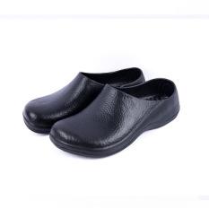 Review Tentang Laki Laki Tergelincir Dapur Dengan Operasi Sepatu Sepatu Hitam Sepatu Wanita Sandal Wanita