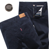 Jual Laki Laki Untuk Meningkatkan Longgar Celana Panjang Musim Panas Celana Kasual Biru Navy Celana Pria Celana Panjang Pria Celana Chino Celana Cargo Other Murah