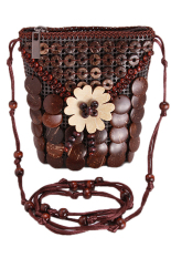 Jual Lalang Coconut Shell Women Shoulder Bag Beach Coffee Online Indonesia