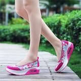 Jual Lalang Gaya Baru Fashion Wanita Sepatu Fitnes Kasual Bunga International Branded Murah