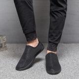 Spesifikasi Lalang Pria Datar Mesh Slip Pada Sepatu Kasual Hitam Intl Lengkap