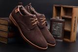 Harga Lalang Sepatu Kasual Pria Ukuran Besar Datar Sepatu Musim Dingin Pria Coklat Internasional Dan Spesifikasinya