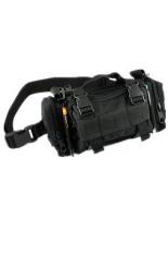 Diskon Lalang Tactical Military Camera Bag Shoulder Bag Pouch Multifunction Pockets Black Akhir Tahun