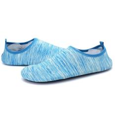 Promo Lalang Adapula Sepatu Renang Musim Panas Pantai Lembut Flat Yoga Sport Sepatu Biru Muda Lalang
