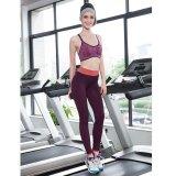 Toko Lalang Wanita Pinggang Elastis Legging Stretch Fitness Workout Celana Panjang Olahraga Ungu Merah Intl Online Di Tiongkok