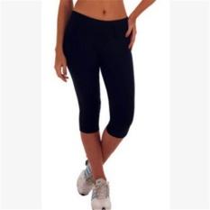 Spesifikasi Lalang Wanita Latihan Legging Olahraga Fitness Stretch Cropped Pants 12 Intl Terbaru