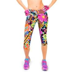 Spesifikasi Lalang Wanita Latihan Legging Olahraga Fitness Stretch Cropped Pants 2 Intl Lalang