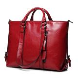 Beli Lalang Tas Tangan Wanita Fashion Minyak Kulit Lokomotif Ladies Shoulder Bag Merah Intl Online