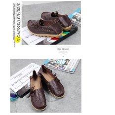Beli Lalang Wanita Pantofel Wanita Slip Pada Sepatu Datar Kopi Intl Kredit Tiongkok