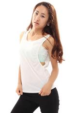 Wanita Longgar Causl Rompi Baju Without Lengan Seksi Putih Lalang Promo Beli 1 Gratis 1