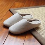 Harga Lalang Wanita Pria Gadis Lembut Bawah Lantai Stripe Home Sandal Beige Intl Lalang Original
