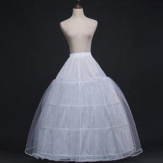 Tips Beli Lamusi Eka 4 Bone Lapisan Hoop 1 Wedding Slip Bridal Petticoat Intl Yang Bagus