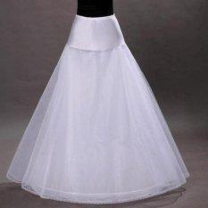 Beli Lamusi Eka Lantai Panjang Gaun Pengantin Gaun Slip Petticoat Intl Yang Bagus