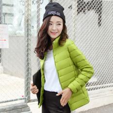 Lan Nai Anak Jaket Bulu Angsa Model Baru Kerah Berdiri Jaket Bulu Angsa Gaya Korea Ringan dan Tipis