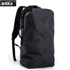 Ongkos Kirim Lan Store Premium Kualitas Pria Ransel Kaka Berkapasitas Besar Canvas Backpack Pria Multi Fungsi Tas Sekolah Untuk Kasual Siswa Travel Vintage Classic Backpack Hitam Intl Di Tiongkok