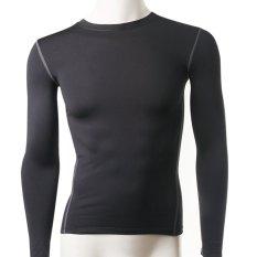Review Lanbaosi Laki Laki Panas Dingin Kompresi Baselayer Gigi Lengan Baju T Shirt Nya Terbaru