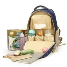 Kapasitas Besar Maternity Backpack Popok Ransel untuk Perjalanan Ibu Mummy Multifungsi Ibu Tas Bayi Maternidade-Intl