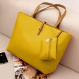 Jual Besar Pu Tas Kulit Wanita Besar Tote Shopper Shoulder Top Handle Bags Intl Sifree