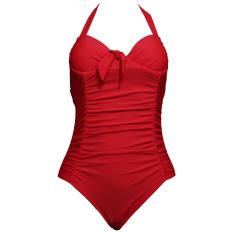 Lasona Baju Renang Wanita Premium SW-3068-L4 Merah