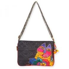 Laurel Burch Crossbody Handbag, 15 x 9.5, Mara