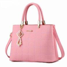 Harga Lauren Korean Women Eksklusif Bag Tas Selempang N2152 Plus Gantungan Pink Original