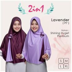 Lavender - Jilbab Instan Pricilla Bolak Balik