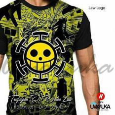 Jual Law Logo One Peace Kaos Anime 3D Umakuka Fullprint Original