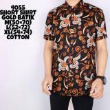 Jual Lazcare Kemeja Batik Kemeja Kantoran Kemeja Formal Sk 210 Short Sleeve Abstract Geometric Black Indonesia