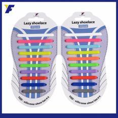 Toko Lazy Shoelace Tali Sepatu Silikon All Free Size 20Pcs Pack Kombinasi Terlengkap