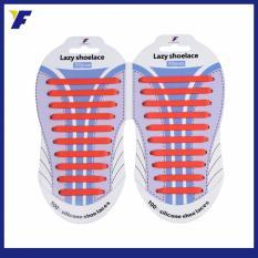 Jual Lazy Shoelace Tali Sepatu Silikon All Free Size 20Pcs Pack Merah Import