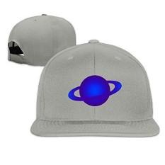 LBLOGITECH Blue Planet Classic Flat Baseball Caps Snapback Hat Unisex - intl