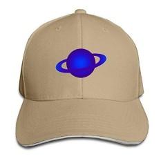 LBLOGITECH Blue Planet Fashion Snapback Peaked Sandwich Baseball Caps Unisex - intl