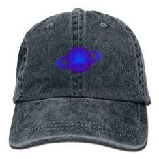 LBLOGITECH Blue Planet Vintage Baseball Caps Washed Cowboy Hat Unisex - intl