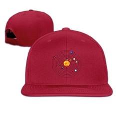 LBLOGITECH Galactic Planet Classic Flat Baseball Caps Snapback Hat Unisex - intl