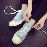 Review Terbaik Lcfu764 Pasangan Fashion Sepatu Sepatu Rendah Memotong Kasual Olahraga Sepatu Biru Muda Internasional
