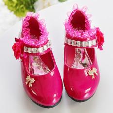 Beli Lcfu764 Fashion Anak Tari Dengan Hiasan Bunga Untuk Anak Perempuan Merah Tiongkok