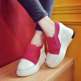 Beli Lcfu764 Populer Hot Gaya Tebal Platform Sepatu Wanita Merah Intl Yang Bagus