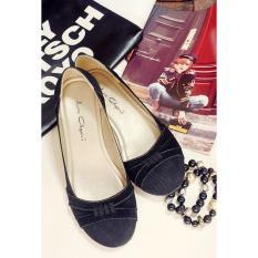 Harga Le Agavi Ballet Flat Shoes Black Ully Vega Asli