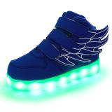 Lampu Led Dia Sneakers Indah Gadis Boys Look Sayap Anak Lampu Led Cantik Gadis Sneakers Sepatu Anak Laki Laki Wings Biru Camshot Diskon 30