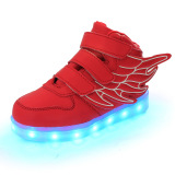 Spesifikasi Lampu Led Dia Sneakers Indah Gadis Boys Look Sayap Anak Lampu Led Cantik Sneakers Sayap Tempat Tidur Anak Gadis Red Shoes Bagus