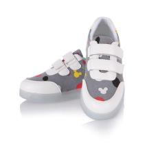 Beli Lampu Led Sepatu Besar Anak S Sepatu Warna Warni Lampu Sepatu Anak Laki Laki Dan Perempuan Sepatu Usb Pengisian Velcro Grey Tiongkok