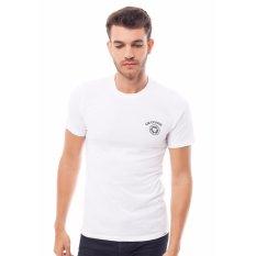 Beli Lee Cooper Kaos Pria Slim Fit White Danny Record Di Dki Jakarta