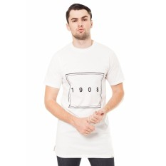 Lee Cooper T-Shirt Pria Regular Fit DEAN NUMBER white