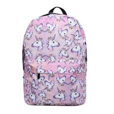 Jual Leegoal Besar Kapasitas Unicorn Cetak Ransel Ringan Outdoor Backpack Shoulder Bag Sch**l Persediaan Intl Satu Set