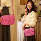 Beli Leegoal Pu Fashion Wanita Tas Wanita Kulit Tas Messenger Mawar Hermitage International Dengan Kartu Kredit