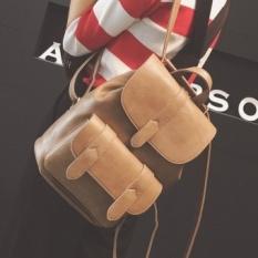 Leftside Gaya Baru Baru Ransel Wanita Sekolah Korea Back Pack PU Kulit Fashion Natal Hadiah untuk Anak Perempuan Tas Pengemas Tas Wanita Online -Intl