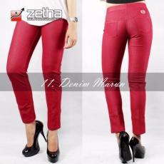 Legging Denim Standard Zetha - Marun
